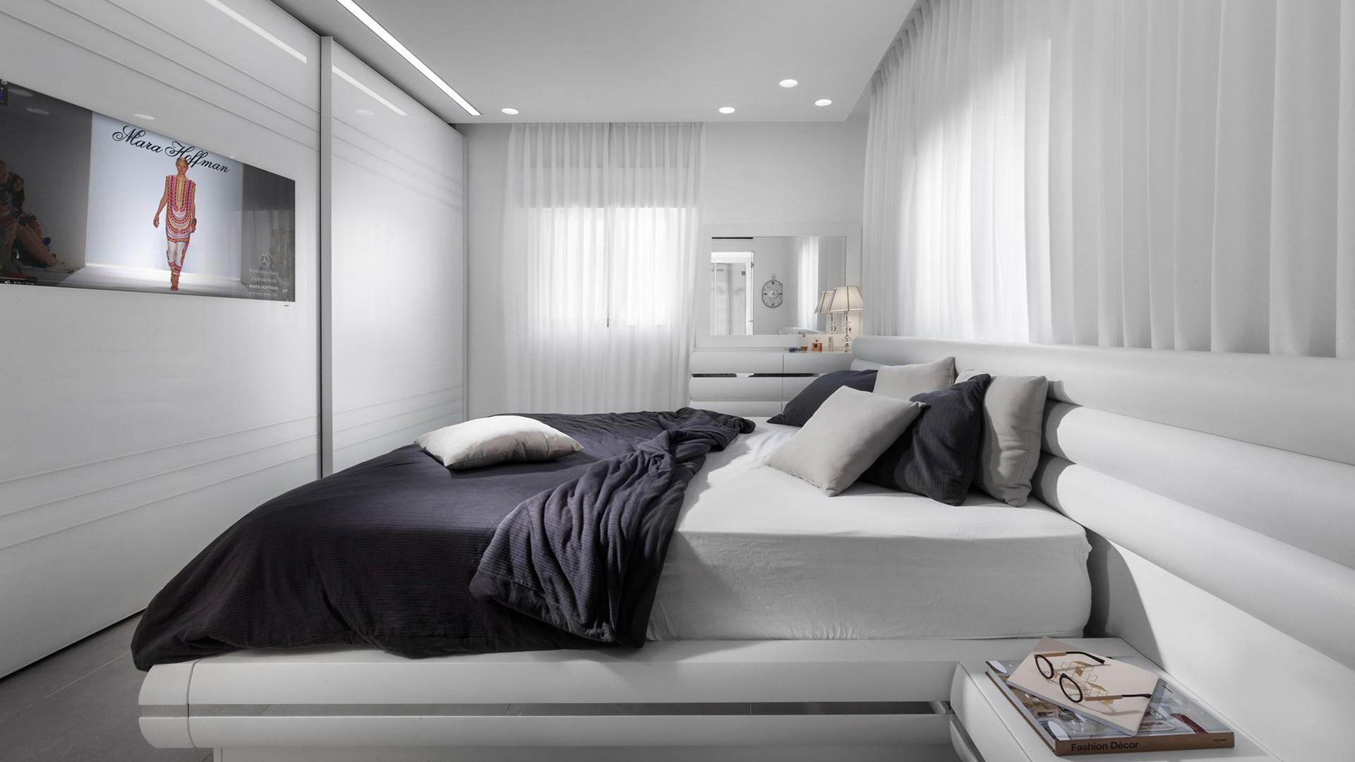 ריצוף ייחודי בחדר השינה