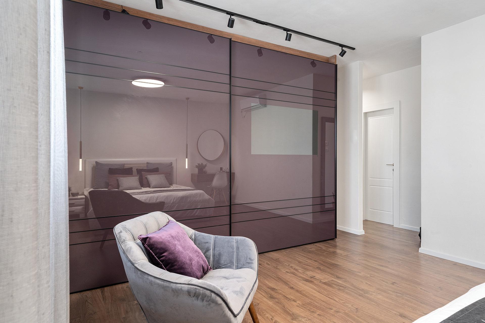 ריצוף דמוי פרקט לחדר שינה