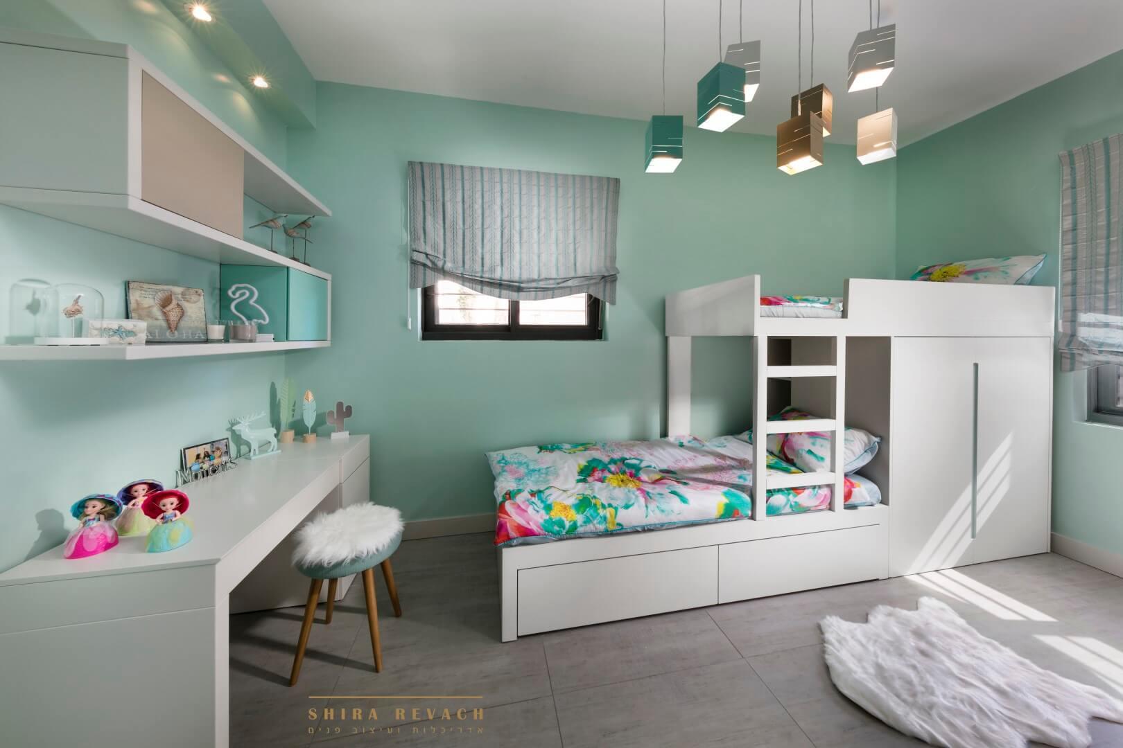 ריצוף אריחי ענק לחדר שינה